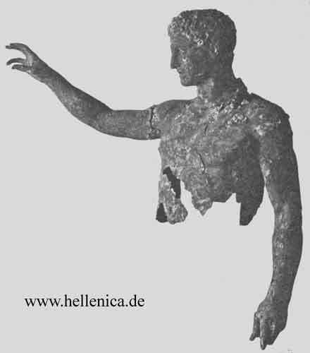 Antikythera Ephebe Greek Art Sculptures Classical Period