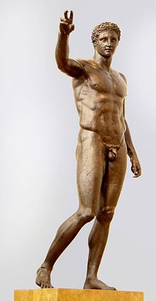Antikythera Ephebe uploadwikimediaorgwikipediacommonsthumb22d