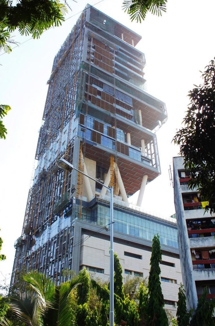 Antilia (building) 20 Most EcoFriendly Buildings on Earth Process Industry Forum