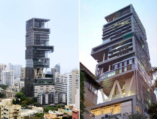 Antilia (building) Antilia The Most Expensive House in the World Rich Glare