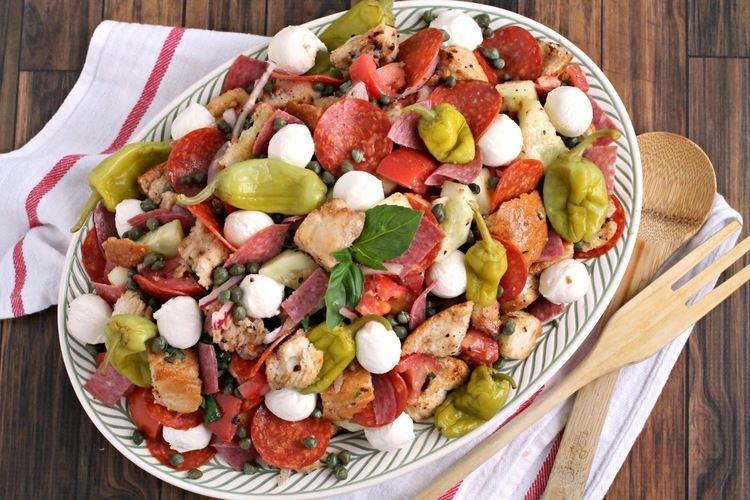 Antipasto Frugal Foodie Mama Antipasto Panzanella Salad
