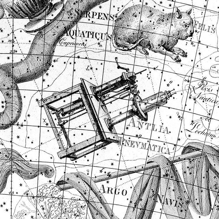 Antlia Celestial Atlas Antlia the Air Pump