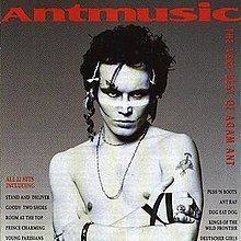 Antmusic: The Very Best of Adam Ant httpsuploadwikimediaorgwikipediaenthumbf