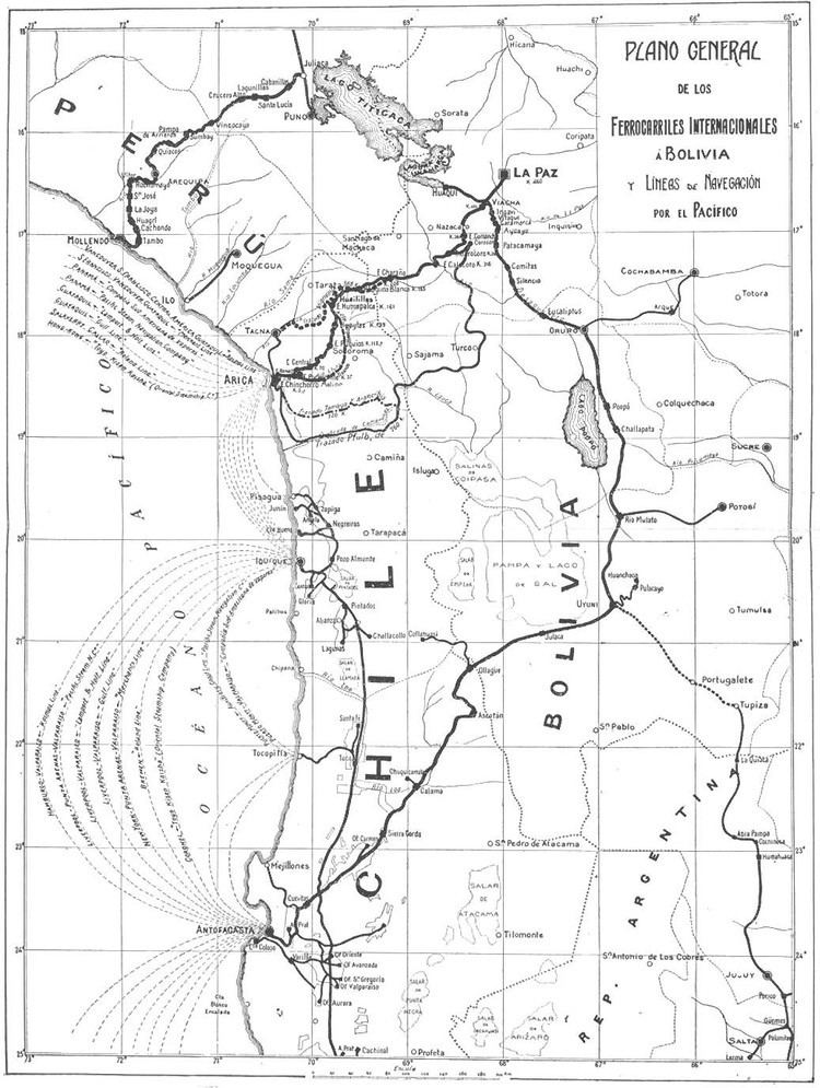 Antofagasta in the past, History of Antofagasta