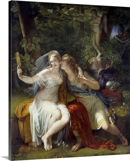 Antoine Ansiaux Rinaldo and Armida by Antoine Ansiaux Great Big Canvas