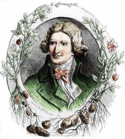 Antoine-Augustin Parmentier SABER PARA COMER ANTOINE AUGUSTIN PARMENTIER 1737 1813