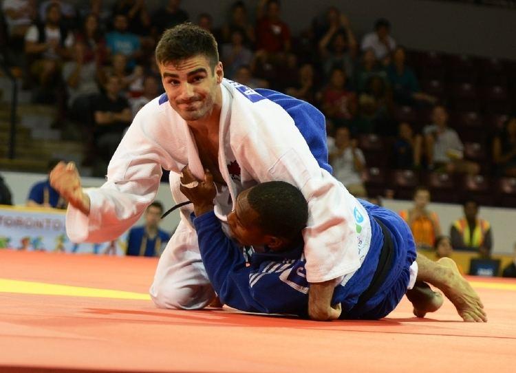 Antoine Bouchard (judoka) Pan American Games Toronto Event JudoInside
