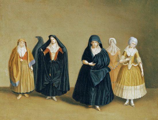 Antoine de Favray Ladies of the Knights of Malta with thei Antoine de