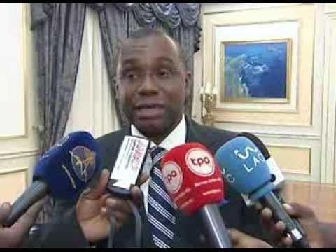 Antoine Ghonda Ambassadeur Antoine Ghonda en Angola le 12 mars 2014 YouTube