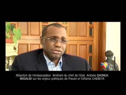 Antoine Ghonda Raction de l39Ambassadeur Itinrant du chef de l39Etat
