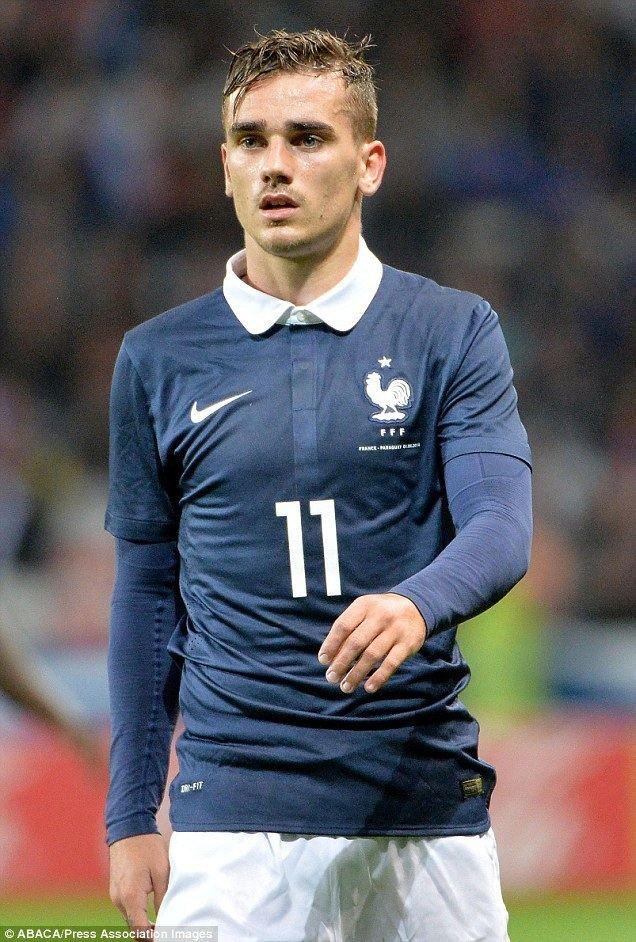 Antoine Griezmann Antoine Griezmann signs sixyear deal at Atletico Madrid as he