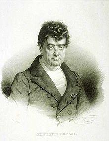 Antoine Isaac Silvestre de Sacy httpsuploadwikimediaorgwikipediacommonsthu