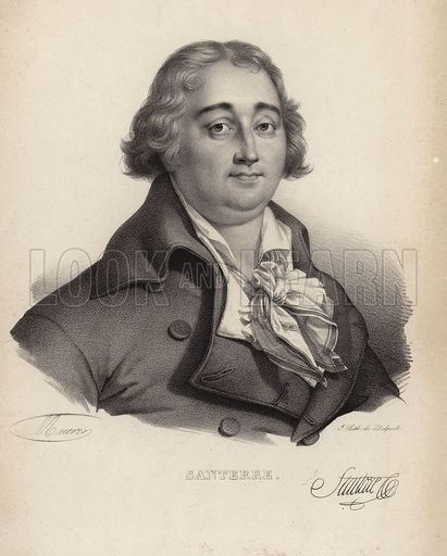 Antoine Joseph Santerre Antoine Joseph Santerre Look and Learn History Picture Library