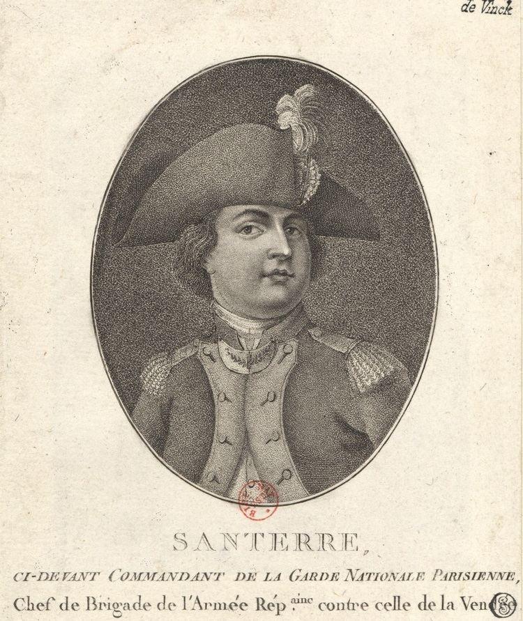 Antoine Joseph Santerre Antoine Joseph Santerre Wikipedia