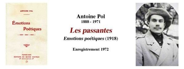 Antoine Pol Antoine Pol Lamandier