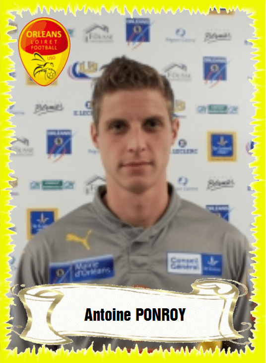 Antoine Ponroy Antoine PONROY Association et club sportif US Orlans