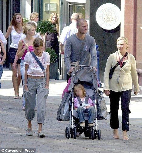 Antoine Sibierski Sibylle Sibierski Daughter of exManchester City star Antoine found