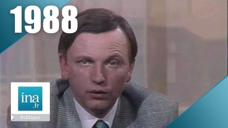 Antoine Waechter Antoine Waechter Campagne prsidentielle 1988 Archive INA YouTube