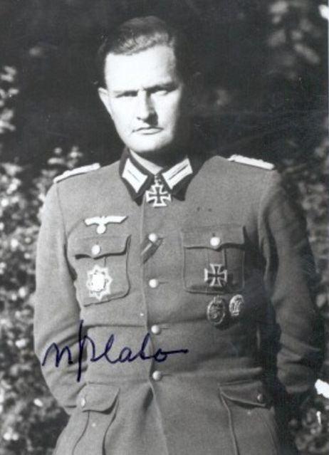 Anton-Detlev von Plato AntonDetlev von Plato 6 June 1910 12 October 2001 RK 1908