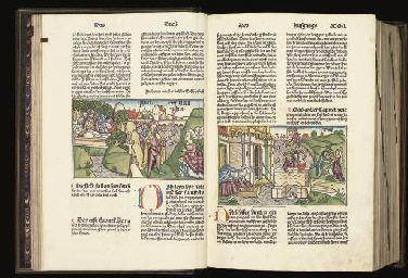 Anton Koberger BIBLE IN GERMAN Nuremberg Anton Koberger 17 February