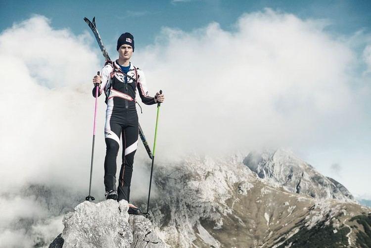 Anton Palzer Dynafit Star und Weltmeister im Skibergsteigen Anton Palzer im