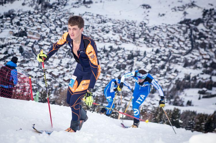 Anton Palzer Anton Palzer Championnats du monde de Ski Alpinisme Verbier