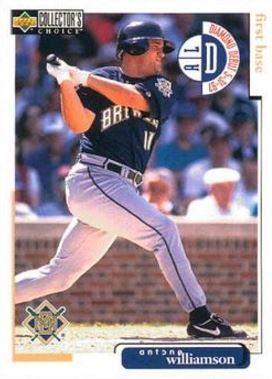 Antone Williamson Antone Williamson Baseball Statistics 19922000