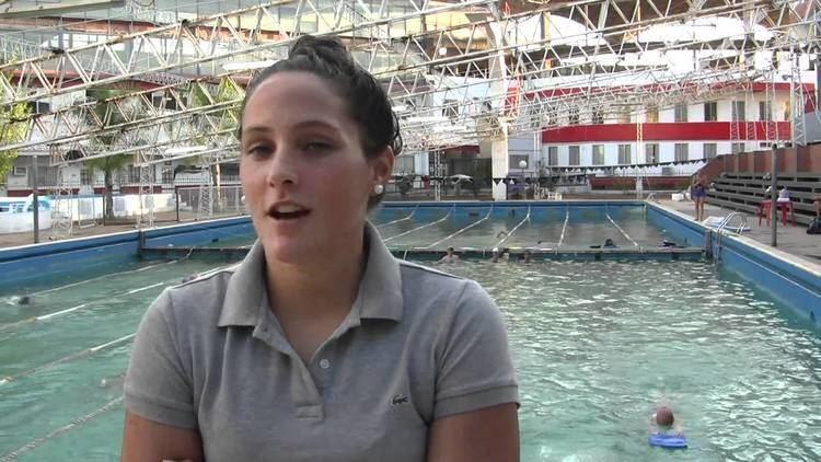 Antonella Bogarín Antonella Bogarn y su sueo de nadar la Santa Fe Coronda YouTube
