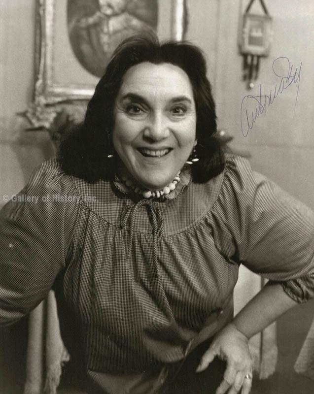 Antonia Rey Antonia Rey Photograph Signed Autographs Manuscripts