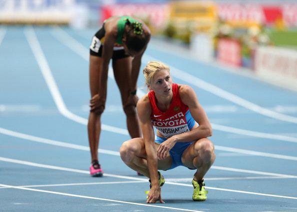 Antonina Krivoshapka Antonina Krivoshapka Photos 14th IAAF World Athletics