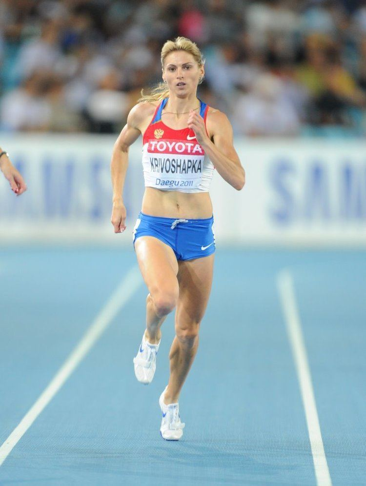 Antonina Krivoshapka RusAthletics Russian Athletics