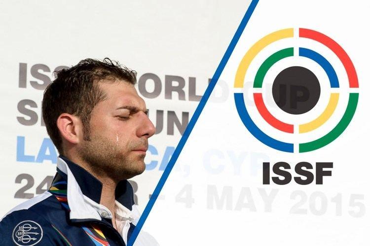 Antonino Barillà Interview with ANTONINO BARILLA39 ITA ISSF Shotgun World Cup 2015