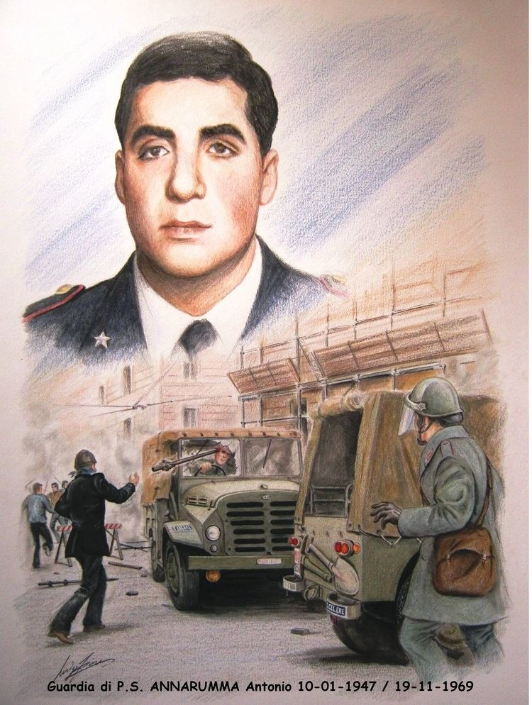 Antonio Annarumma Commemorato a Vibo Valentia il sacrificio della Guardia di PS
