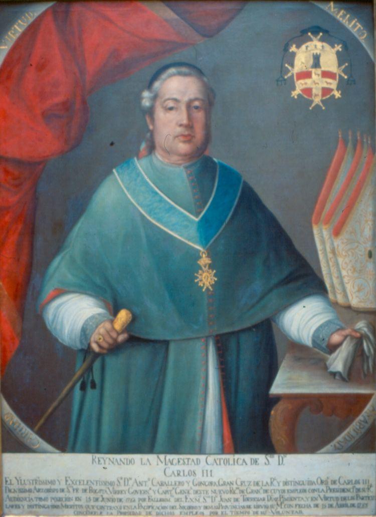 Antonio Caballero y Góngora Virrey Antonio Caballero y Gngora Productos del portal