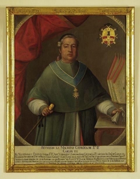 Antonio Caballero y Góngora curaduriacolonial Virrey Caballero y Gngora