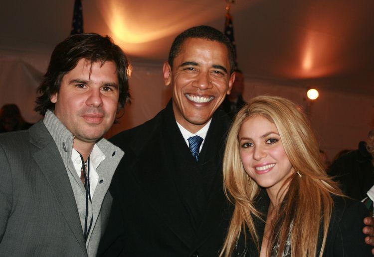Antonio de la Rua FileAntonio de la Ra Barack Obama amp Shakira 200902