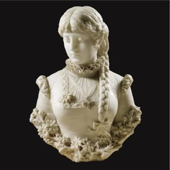 Antonio Frilli Bust Of A Girl by Antonio Frilli Blouin Art Sales Index