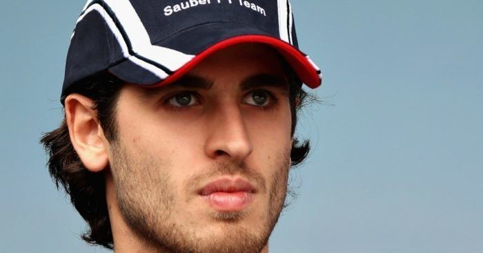 Antonio Giovinazzi Antonio Giovinazzi Haas F1 third driver ThisisF1