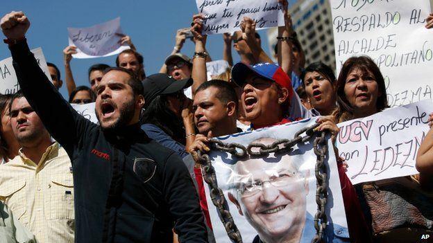 Antonio Ledezma Venezuela charges Caracas mayor Ledezma over conspiracy BBC News