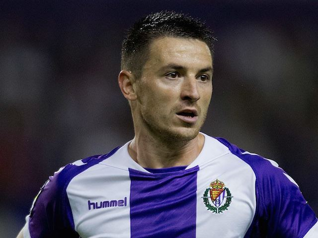 Antonio Rukavina Antonio Rukavina of Real Valladolid CF in action during