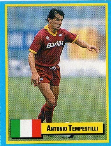 Antonio Tempestilli AS ROMA Antonio Tempestilli TOP Micro Card Italian League 1989