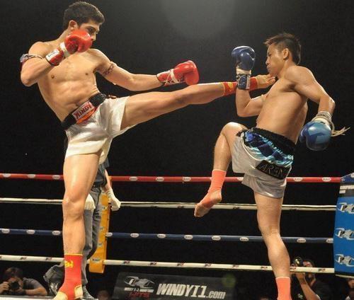 Antuan Siangboxing Martial Arts Academy Dubai