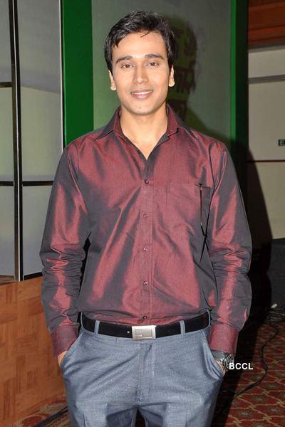 Anurag Sharma Anurag Sharma during the launch of TV show Byah Hamari Bahu Ka