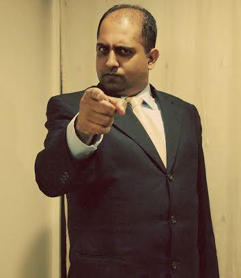 Anuvab Pal (comedian) Comedian Anuvab Pal at STANDUP at STANDUP NY 236West