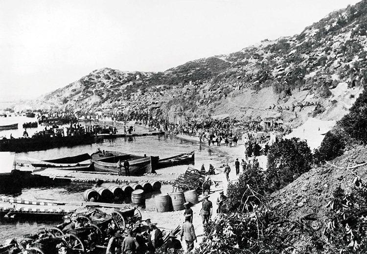 ANZAC Cove Anzac Cove Gallipoli 1915 History Today