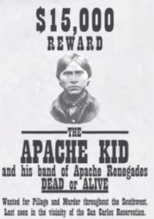 Apache Kid Haskaybaynayntayl The Apache Kid Bonanza Boomers