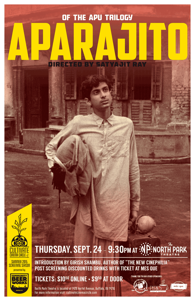 Aparajito Aparajito Poster Cultivate Cinema Circle