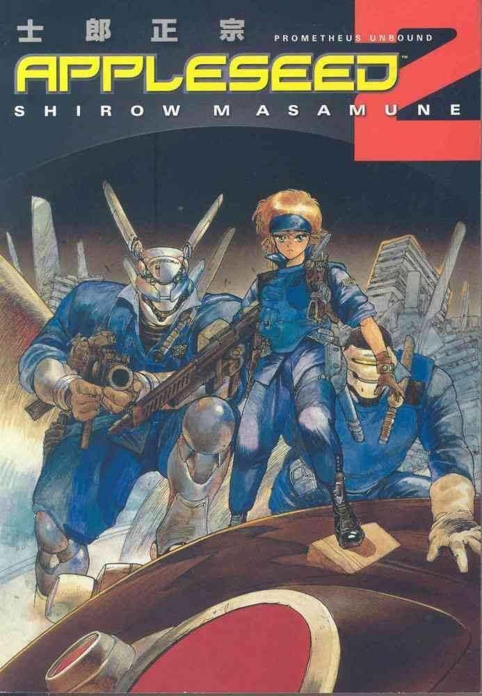Appleseed Manga Alchetron The Free Social Encyclopedia