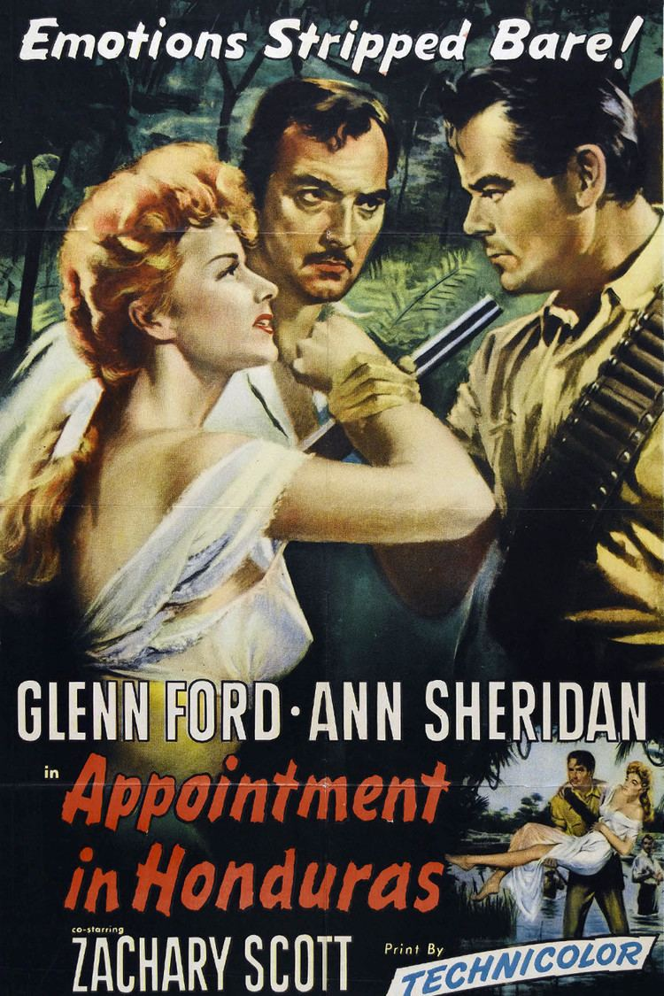 Appointment in Honduras wwwgstaticcomtvthumbmovieposters40022p40022