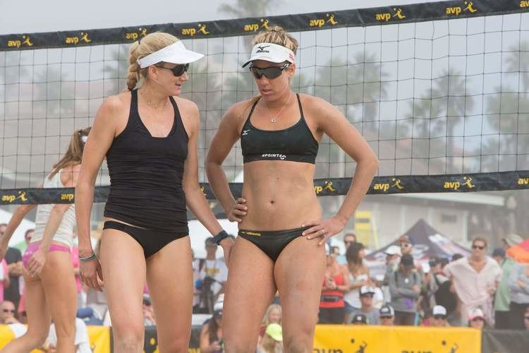 April Ross Beach volleyball duo Jennings Ross look to build on new
